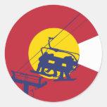 Colorado Flag Sticker