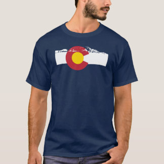 Colorado Flag T-Shirt - Rocky Mountains - Denver