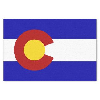 Colorado flag tissue paper