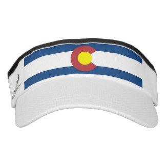 Colorado flag visor