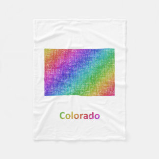 Colorado Fleece Blanket