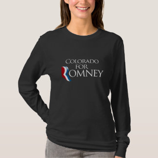 COLORADO FOR ROMNEY 2012 -.png T-Shirt