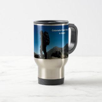 Colorado Front Range, A-Basin Travel Mug