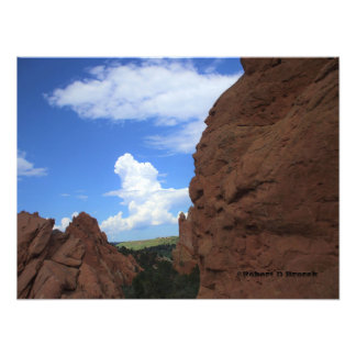 Colorado Garden of Gods Photo Enlargement