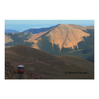 Colorado Going Up Pike's Peak Photo Enlargement