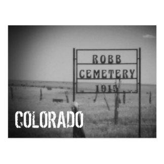Colorado (Graveyard) Postcard