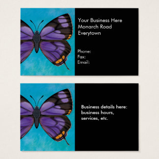 Colorado Hairstreak Butterfly Business Card