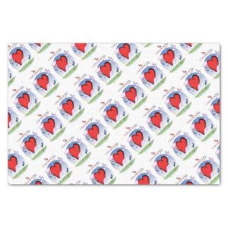 colorado head heart, tony fernandes tissue paper