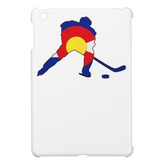 Colorado Hockey Player iPad Mini Cases