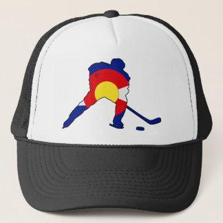 Colorado Hockey Player Trucker Hat