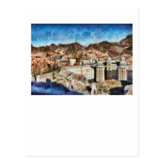 Colorado - Hoover Dam Postcard