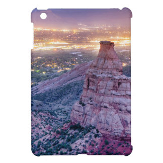 Colorado Independence Monument and City Lights Of Cover For The iPad Mini