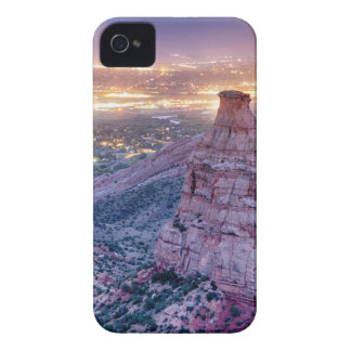 Colorado Independence Monument and City Lights Of iPhone 4 Case