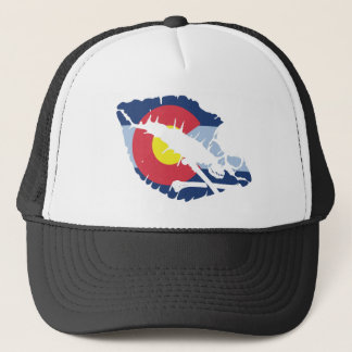 colorado kiss trucker hat