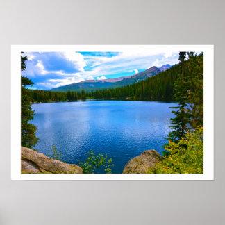 Colorado Lake Poster