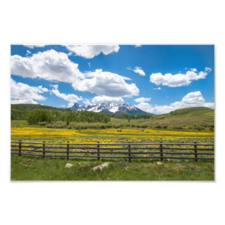 colorado landscape art photo