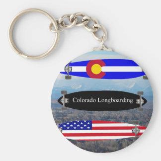 Colorado Longboarding Key Ring