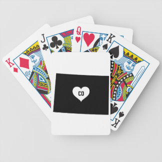 Colorado Love Bicycle Playing Cards