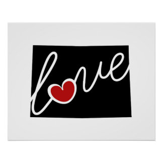 Colorado Love!  Gifts for CO Lovers Posters