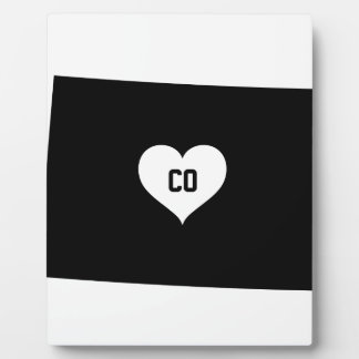 Colorado Love Plaque