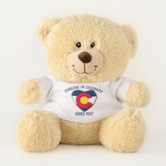 Colorado Loves You Teddy Bear