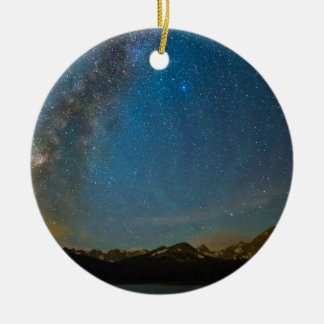 Colorado Milky Way Kinda Night Ceramic Ornament