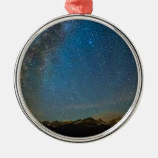 Colorado Milky Way Kinda Night Metal Ornament
