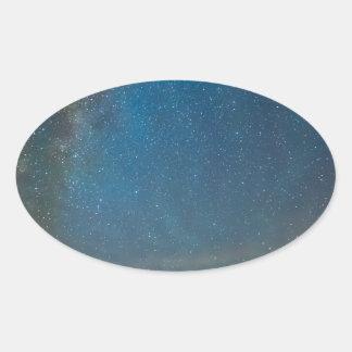 Colorado Milky Way Kinda Night Oval Sticker