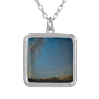 Colorado Milky Way Kinda Night Silver Plated Necklace