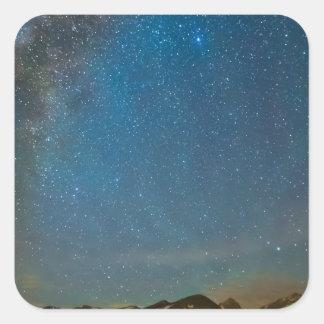 Colorado Milky Way Kinda Night Square Sticker