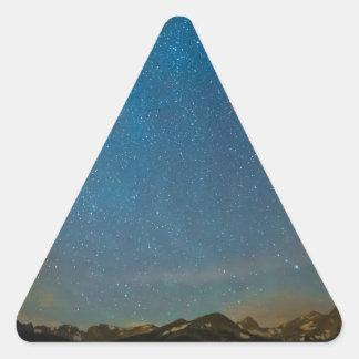 Colorado Milky Way Kinda Night Triangle Sticker