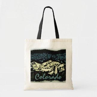 Colorado mountain deco bag