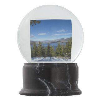 Colorado Mountain Scenes Snow Globe
