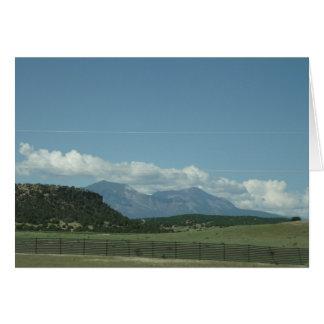 Colorado Mountain View Card