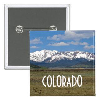 Colorado Mountains Button
