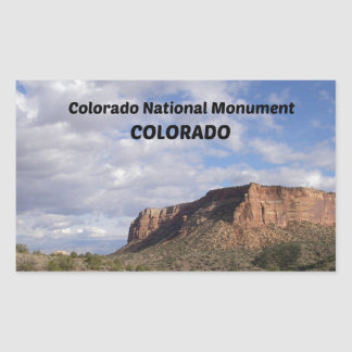 Colorado National Monument, CO Rectangular Sticker