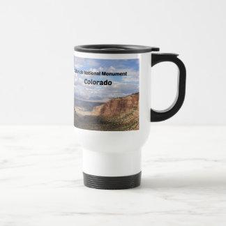 Colorado National Monument, CO Travel Mug