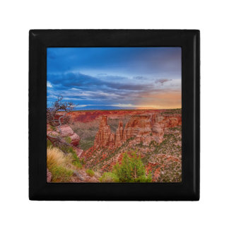 Colorado National Monument Evening Storms Gift Box
