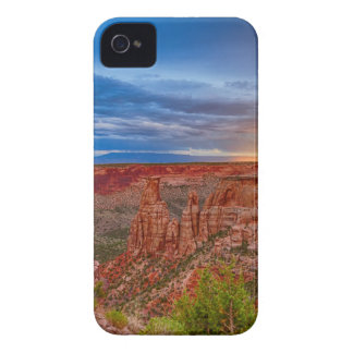 Colorado National Monument Evening Storms iPhone 4 Cover