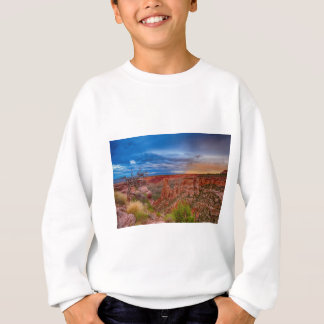 Colorado National Monument Evening Storms Sweatshirt