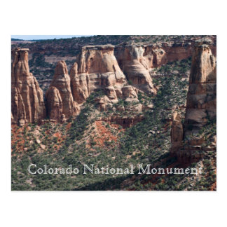 Colorado National Monument Travel Postcard
