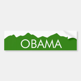 Colorado Obama Mountains Sticker