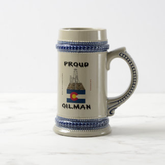 Colorado Oilman, Beer Stein