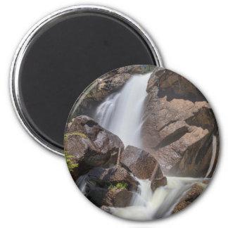 Colorado_Ouzel_Falls 6 Cm Round Magnet