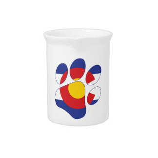 Colorado Pet Paw Pitcher