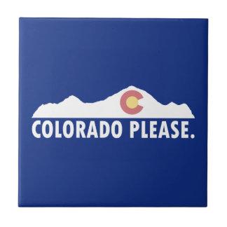 Colorado Please Ceramic Tile