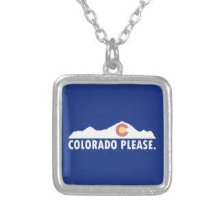 Colorado Please Silver Plated Necklace