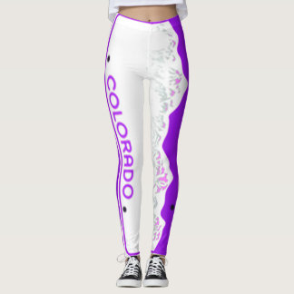 Colorado Purple Tag 90 degree full bleed centre Leggings