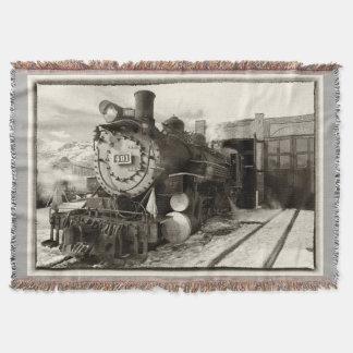Colorado Railroad Museum Engine 491 Throw Blanket