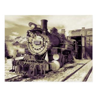 Colorado Railroad Museum Postcard